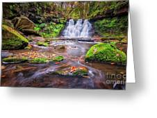 Goit Stock Waterfall Greeting Card