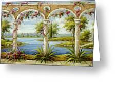 Italian Historical Villas Greeting Card