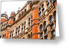 London Building Greeting Card