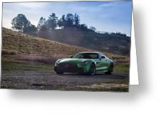 #mercedes #amg #gtr #print Greeting Card by ItzKirb Photography