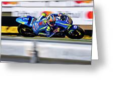 Motogp Greeting Card