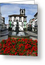 Ponta Delgada - Azores Greeting Card