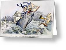 Presidential Campaign 1904 Greeting Card