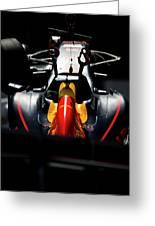 Red Bull Formula 1 Greeting Card