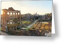 Rome Forum  Greeting Card
