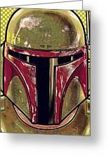Trilogy Star Wars Art Greeting Card