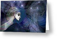 1101   Mysterious  Journey V  Greeting Card