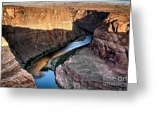 1118 Down River Greeting Card