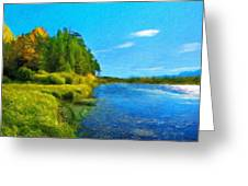 Nature Art Landscape Canvas Art Paintings Oil Greeting Card