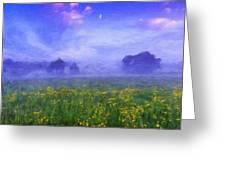 Nature Landscapes Prints Greeting Card