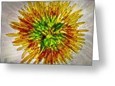 11262 Flower Abstract Series 02 #16a Greeting Card