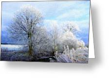 Nature Pictures Of Oil Paintings Landscape Greeting Card
