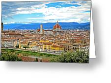 1166 Florence Italy Greeting Card