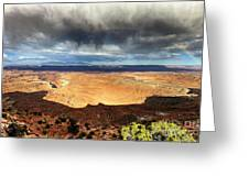 1174 Brewing Desert Storm Greeting Card