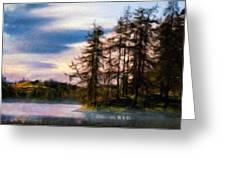 Landscape Nature Scene Greeting Card