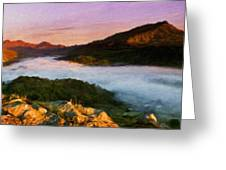 Nature Landscapes Prints Greeting Card