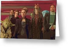 A Star Wars Art Greeting Card