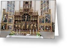 12 Apostles Altar - Rothenburg Greeting Card