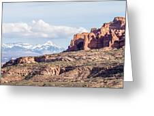 Arches National Park  Moab  Utah  Usa Greeting Card
