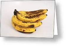Banana Ripening Sequence Greeting Card