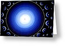 12 Dimensions Greeting Card