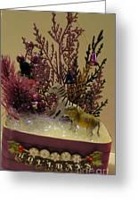 Diorama Miniature Scene Greeting Card