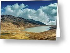 Elephant Lake, Kupup Valley, Sikkim, India Greeting Card