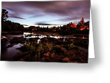 Elkton River Greeting Card