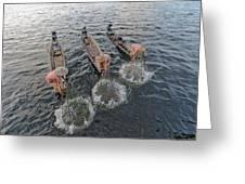 Fisherman Inle Lake - Myanmar Greeting Card