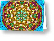 Mandala Ornament Greeting Card