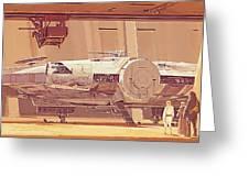 Movie Star Wars Poster Greeting Card
