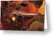 Movies Star Wars Poster Greeting Card