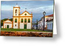 Paraty, Brazil Greeting Card