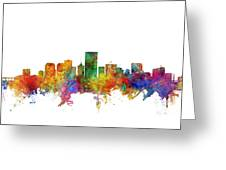 Richmond Virginia Skyline Greeting Card
