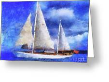 Ships Ahoy Greeting Card