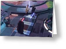 Star Wars Characters Art Greeting Card