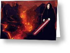 Star Wars Episode Poster Greeting Card