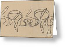 Study For A Border Design Greeting Card
