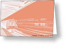Train Station Series Greeting Card