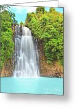 Waterfall Greeting Card by MotHaiBaPhoto Prints