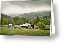 1209-1116 - Boxley Valley Barn Greeting Card by Randy Forrester