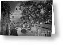 Charleston Spooky Greeting Card