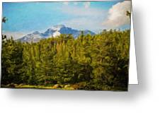Landscape Paintings Canvas Prints Nature Art  Greeting Card