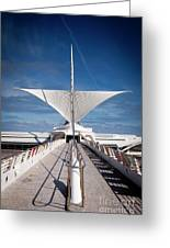 1273 Milwaukee Museum Of Art Greeting Card