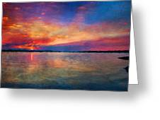 Nature Landscape Light Greeting Card