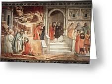 12dispu Fra Filippo Lippi Greeting Card