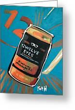 12welve Eyes Greeting Card