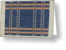 Coverlet Greeting Card