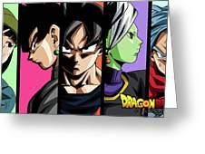 Dragon Ball Super Greeting Card