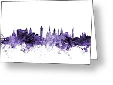 Glasgow Scotland Skyline Greeting Card